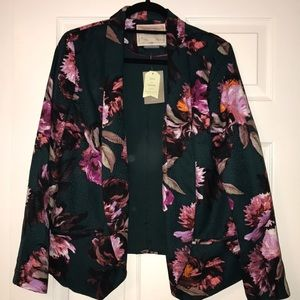 Floral blazer from Anthropologie size 12 tags on!!